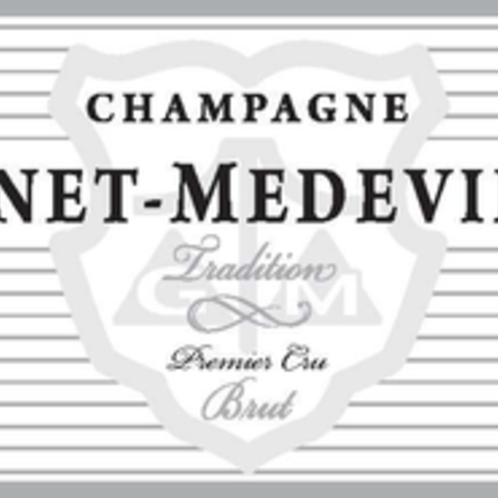 """Gonet-Medeville Champagne 1er Cru Brut """"Tradition"""" NV"""