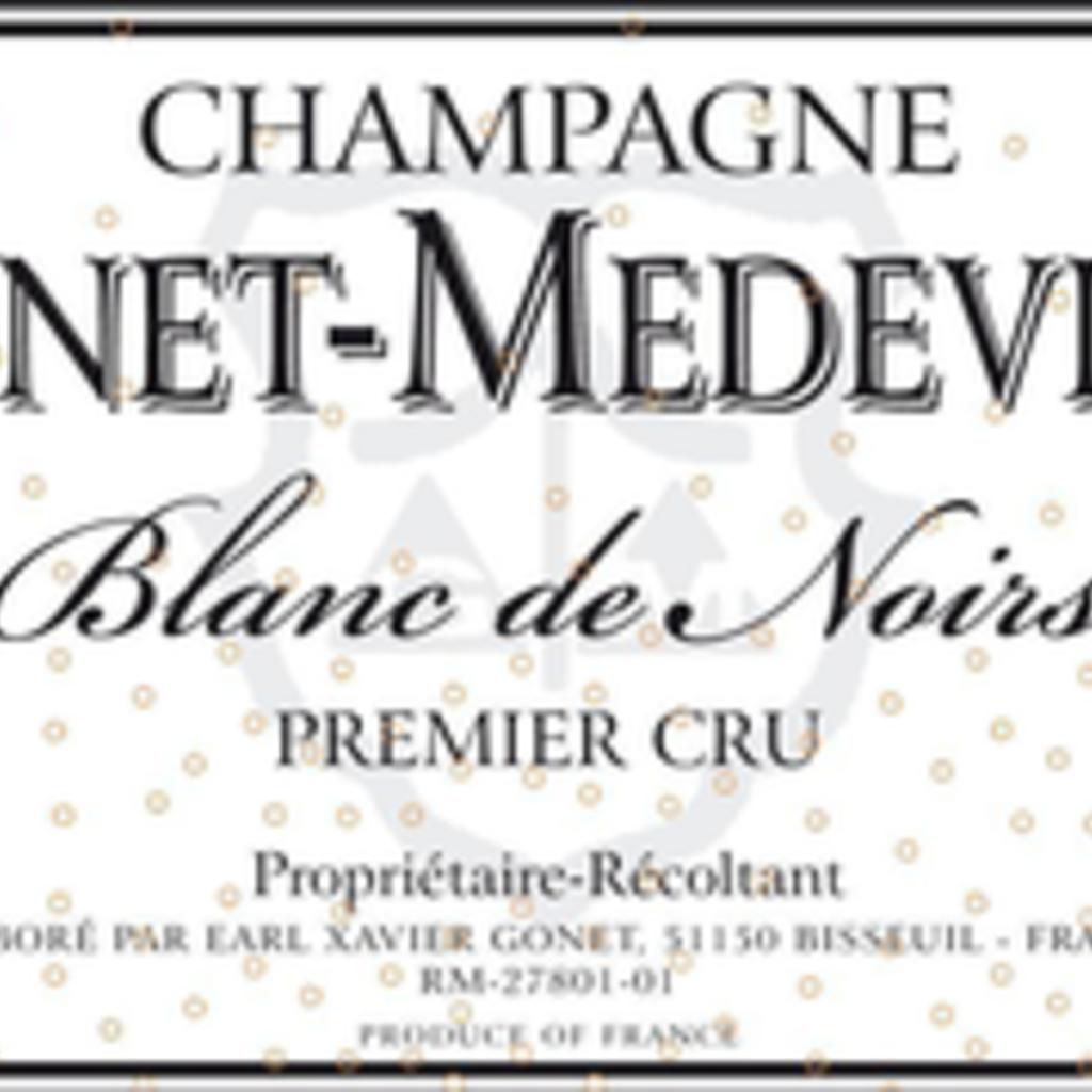 Gonet-Medeville Champagne Brut 1er Cru Blanc de Noirs NV