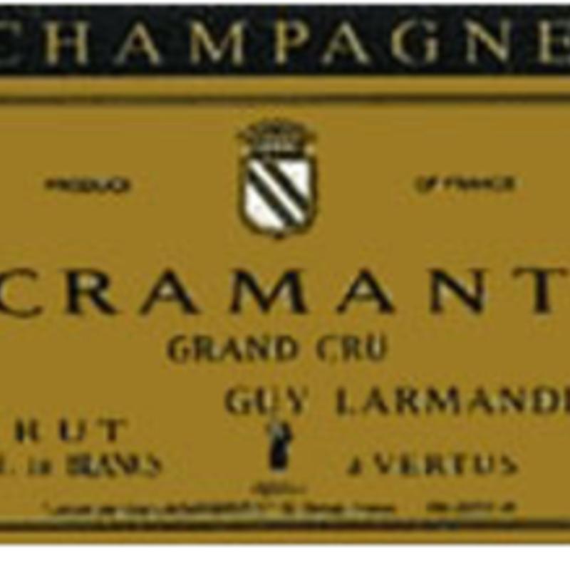Guy Larmandier Champagne Blanc de Blancs Cramant Grand Cru NV