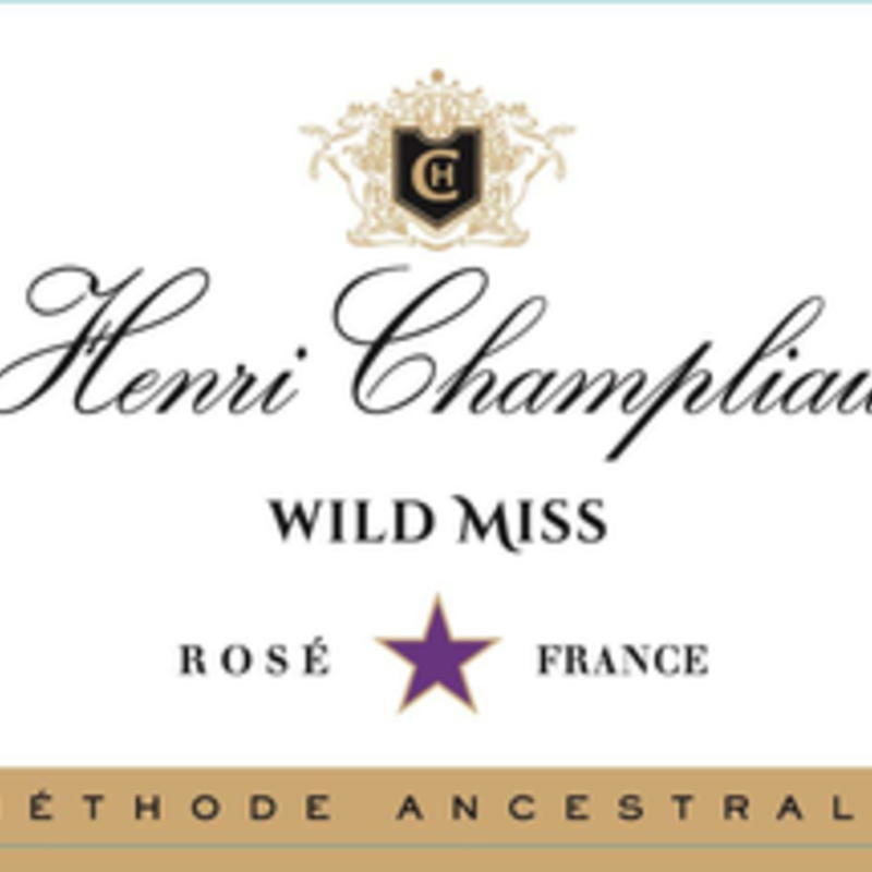 "Henri Champliau ""Wild Miss"" Rose Demi-Sec NV"