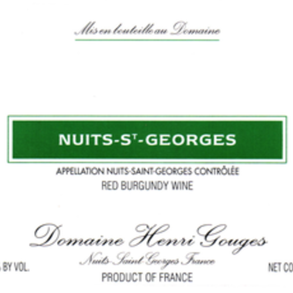 Henri Gouges Nuits Saint-Georges 2017