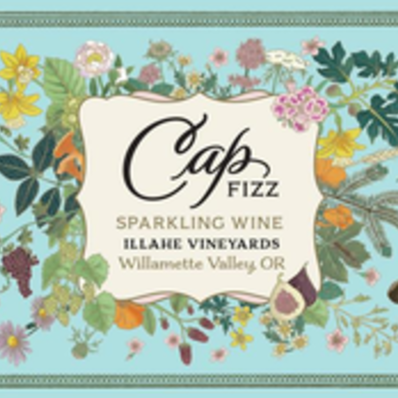 Illahe Vineyards Cap Fizz Sparkling NV