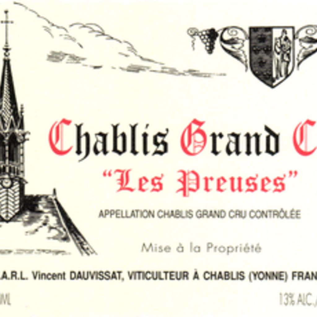 J & S Dauvissat Les Preuses Chablis 2017
