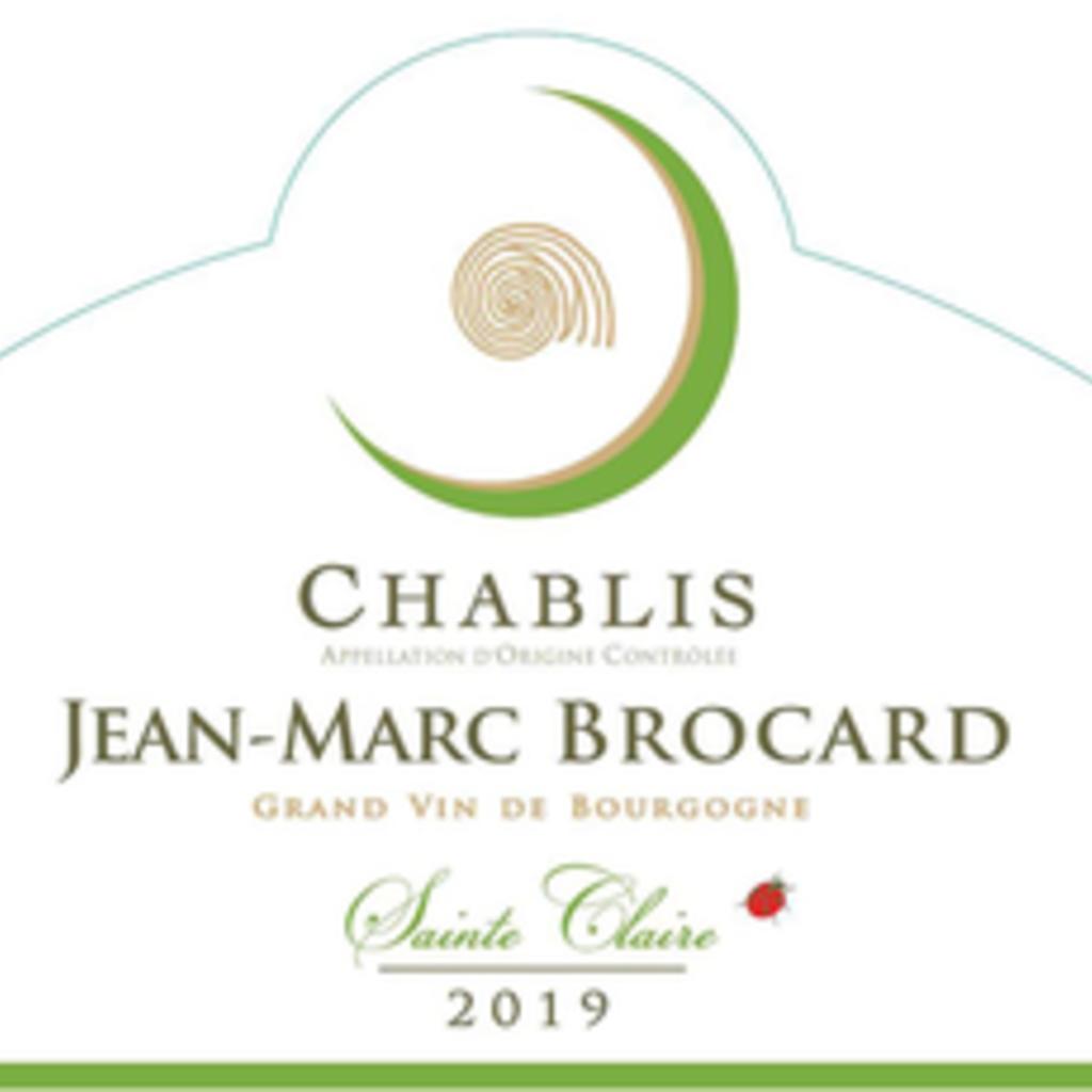 Jean Marc Brocard Sainte Claire Chablis 2019