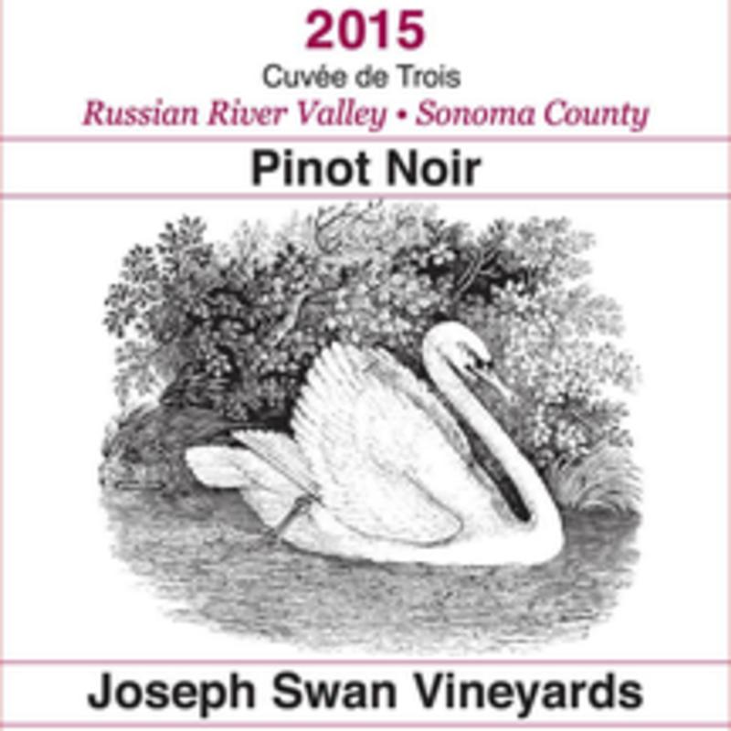 "Joseph Swan ""Cuvee de Trois"" Pinot Noir 2016"