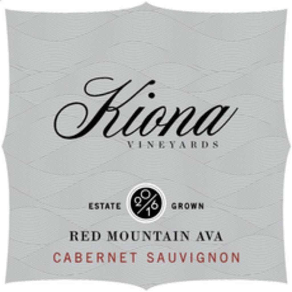 "Kiona Vineyards ""Red Mountain"" Cabernet Sauvignon 2016"