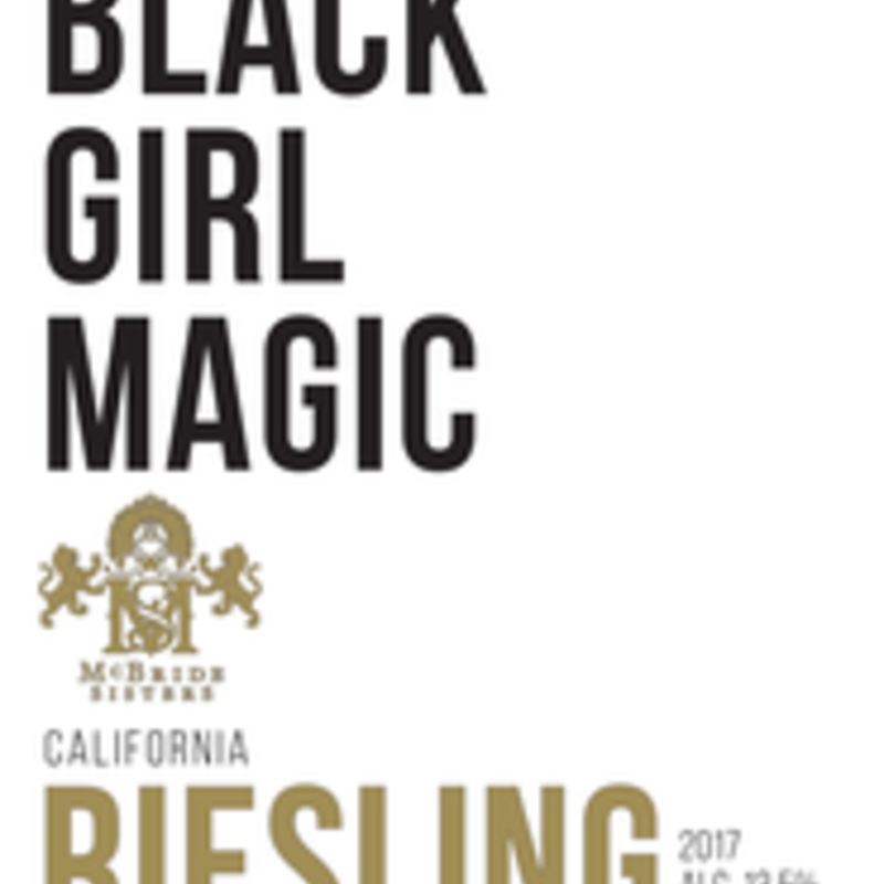 """McBride Sisters """"Black Girl Magic"""" Riesling 2020"""