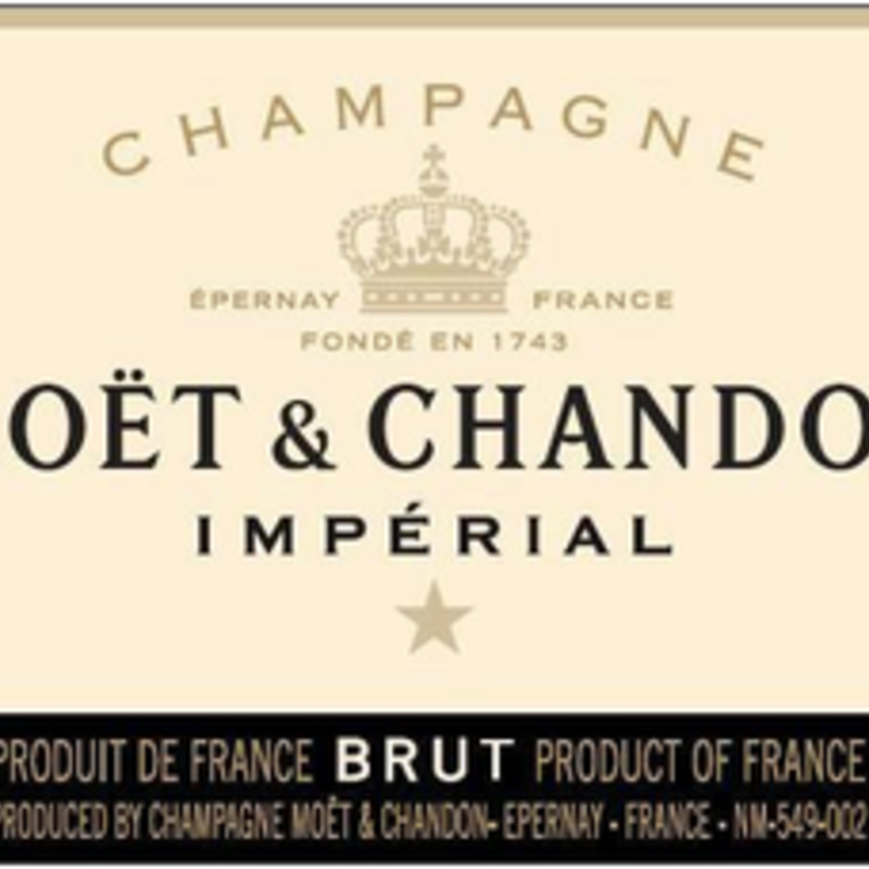 Moet & Chandon Champagne Brut Imperial NV 750mL