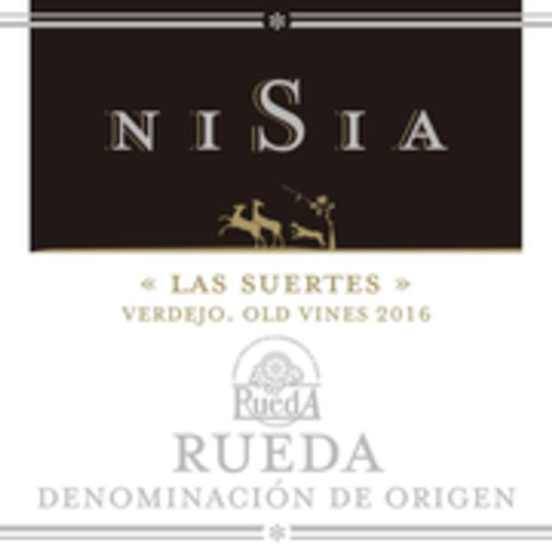 Nisia Rueda Verdejo Las Suertes Old Vines 2017
