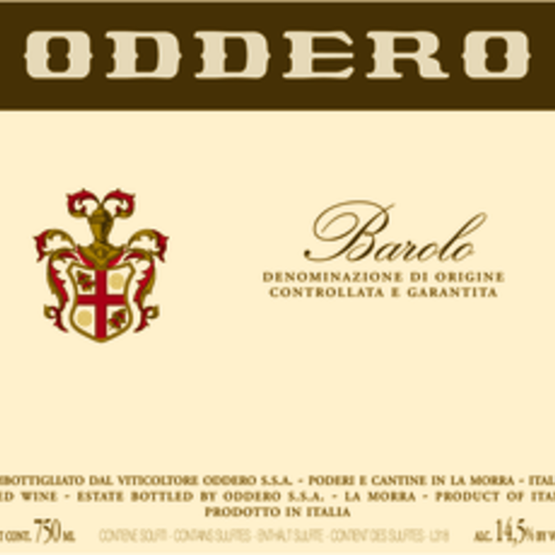 Oddero Barolo 2017