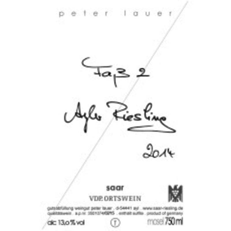 Peter Lauer Riesling Fass 2 Extra Trocken 2019