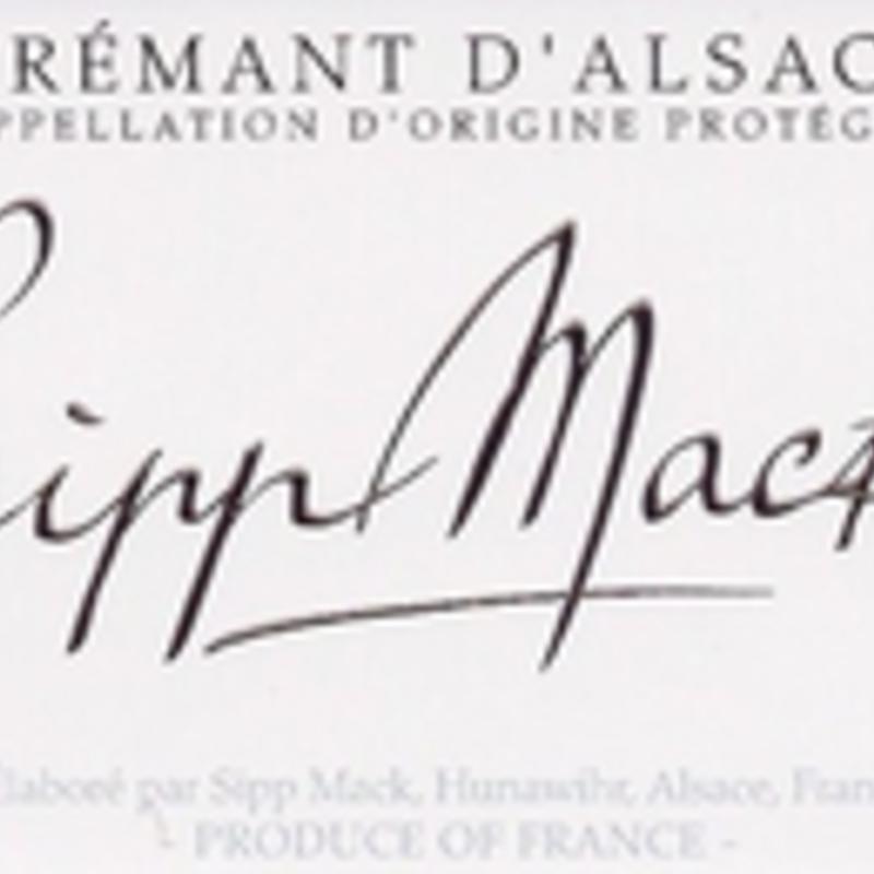 Sipp Mack Sparkling Cremant d'Alsace NV