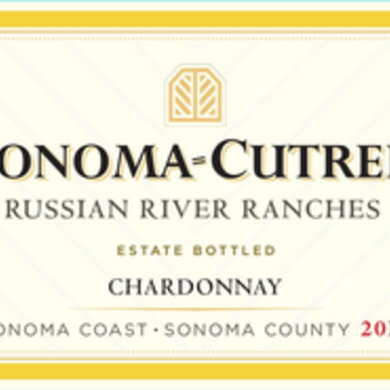 """Sonoma Cutrer """"Russian River Ranches"""" Chardonnay 2018"""