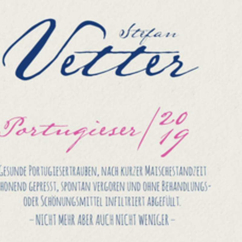 Stefan Vetter Portugeiser 2019