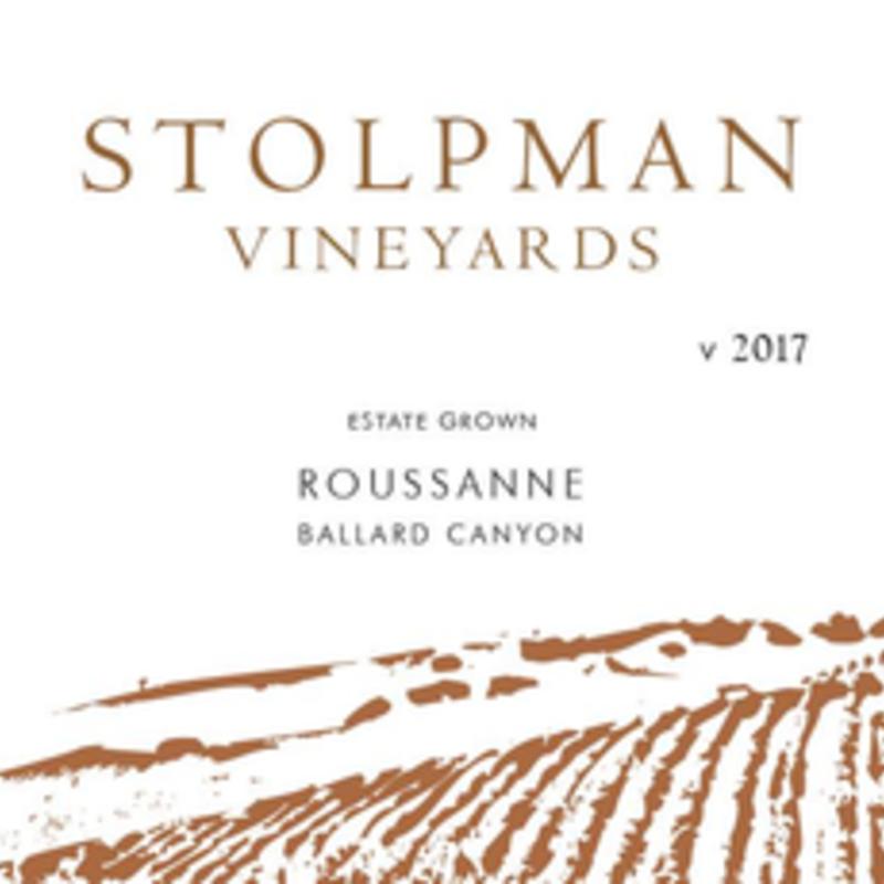 Stolpman Vineyards Ballard Canyon Roussanne 2017