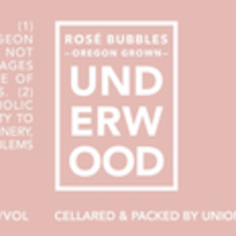 Underwood Sparkling Rose Can 375mL