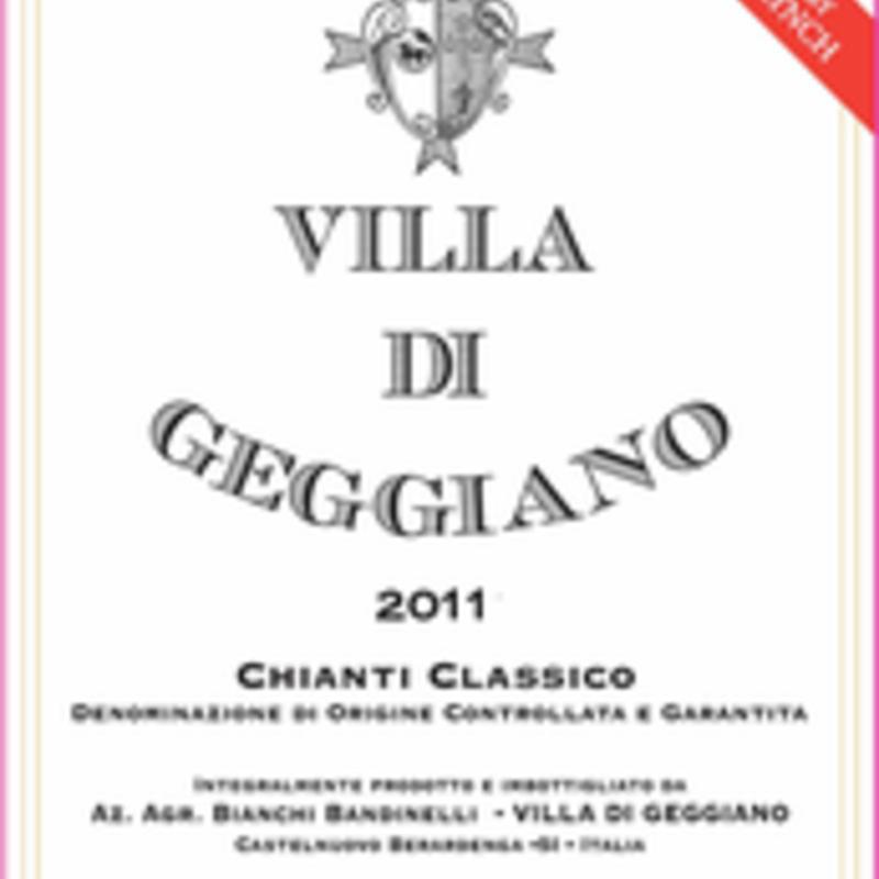 Villa de Geggiano Chianti Classico 2016