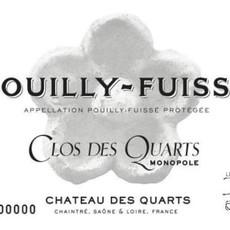 """Chateau des Quarts """"Clos des Quarts"""" Pouilly Fuisse 2016"""