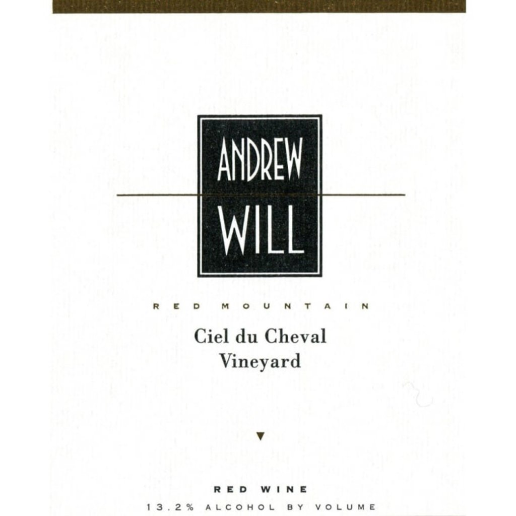 Andrew Will Winery Ciel du Cheval Red 2015