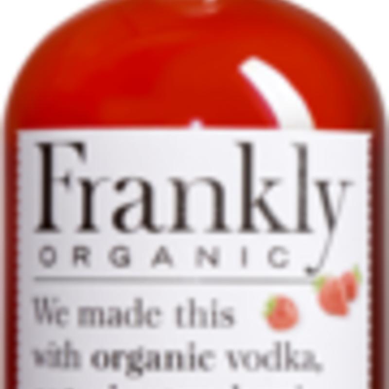 Frankly Organic Stawberry Vodka 750mL