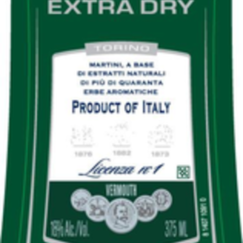 Martini & Rossi Dry Vermounth 375mL