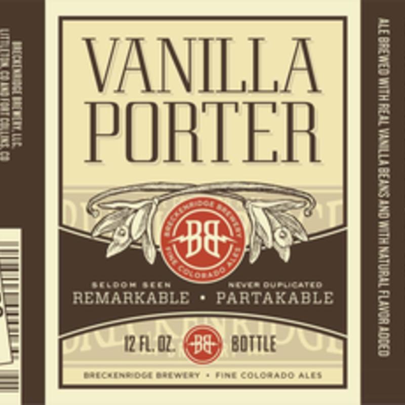 Breckenridge Vanilla Porter 6pack