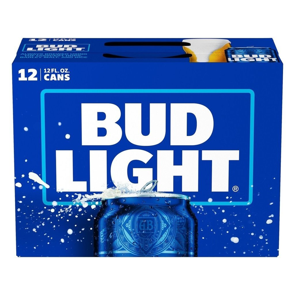 Bud Light 12pack Cans