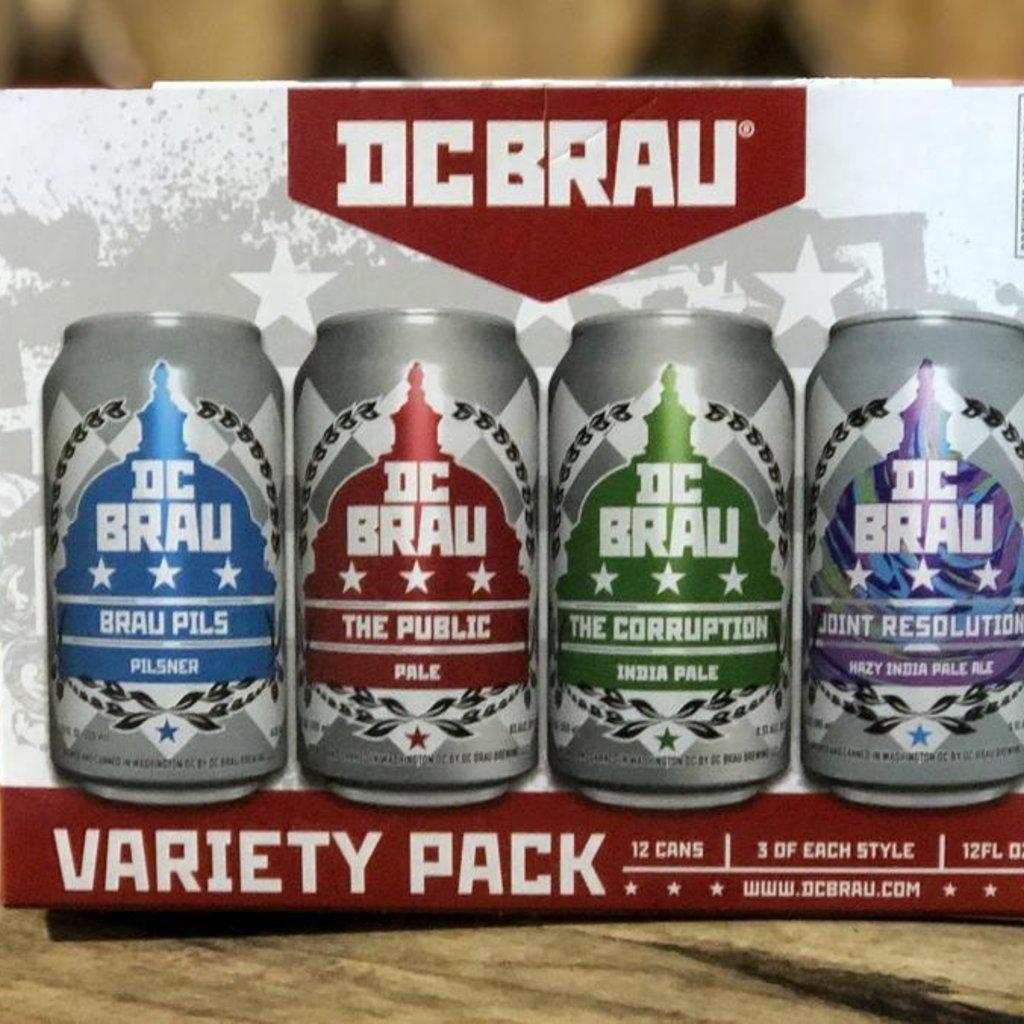 DC Brau Variety 12pack Cans
