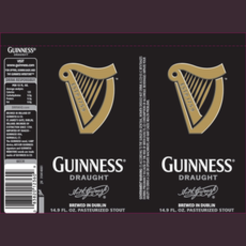 Guinness Draft 4pack Cans