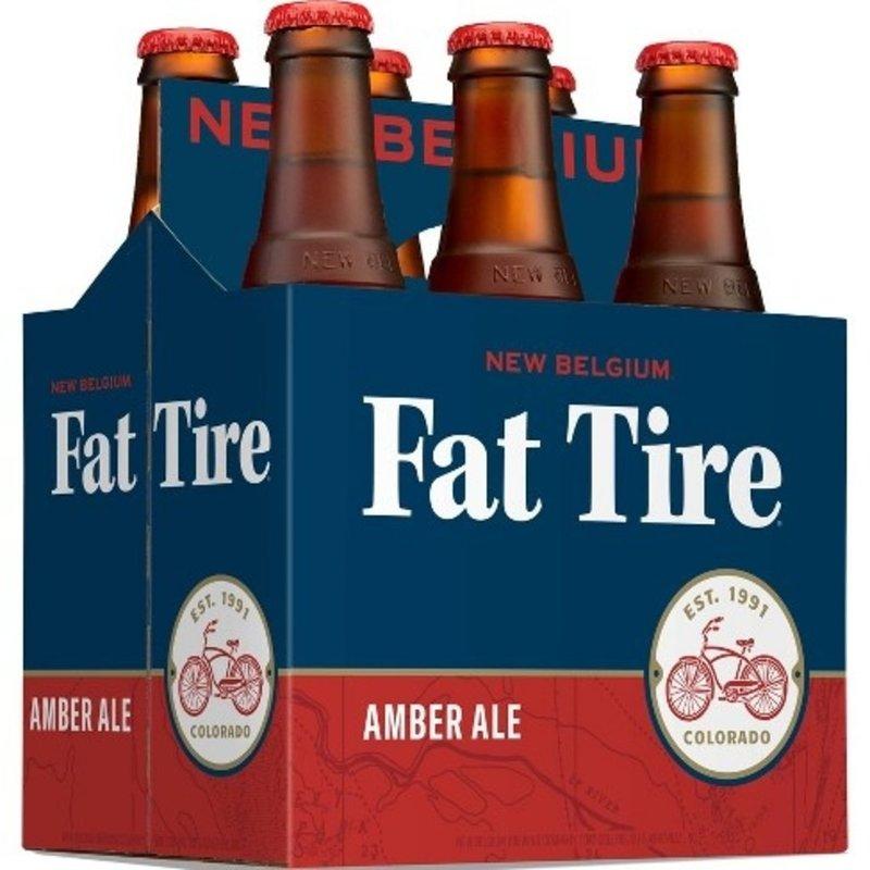 New Belgium Fat Tire 6pack