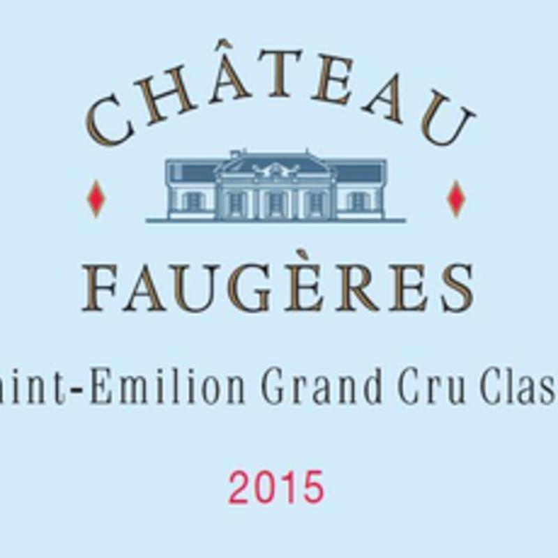 Chateau Faugeres  Saint Emilion 2018