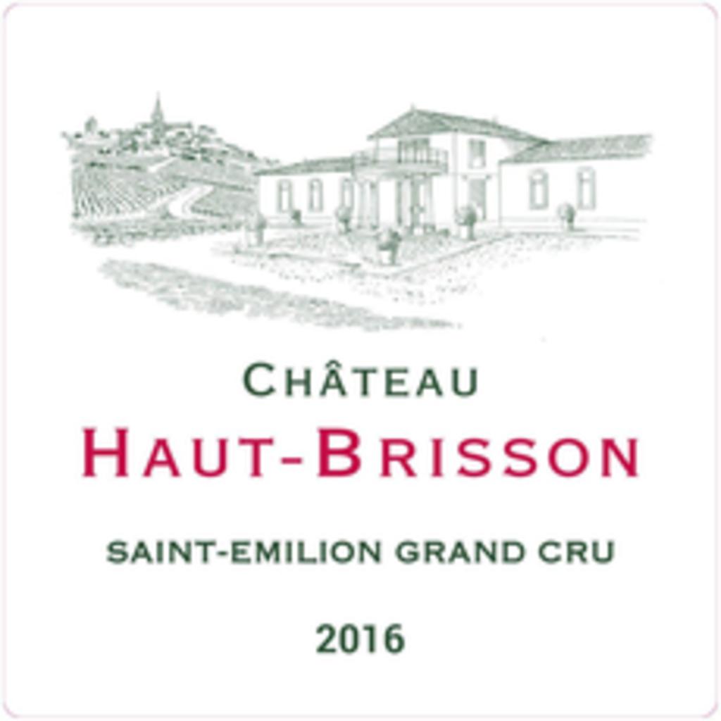 Chateau Haut-Brisson St Emilion Grand Cru 2018