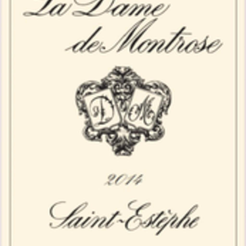 La Dame de Montrose Sainte Estephe 2016
