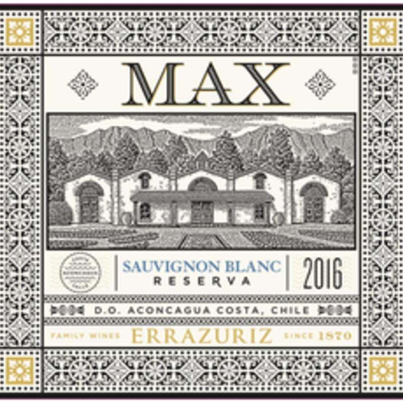 Errazuriz MAX Sauvignon Blanc 2019