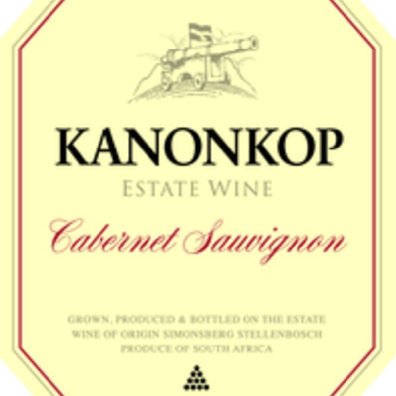 "Kanonkop ""Kadette"" Cabernet Sauvignon 2019 750ml"