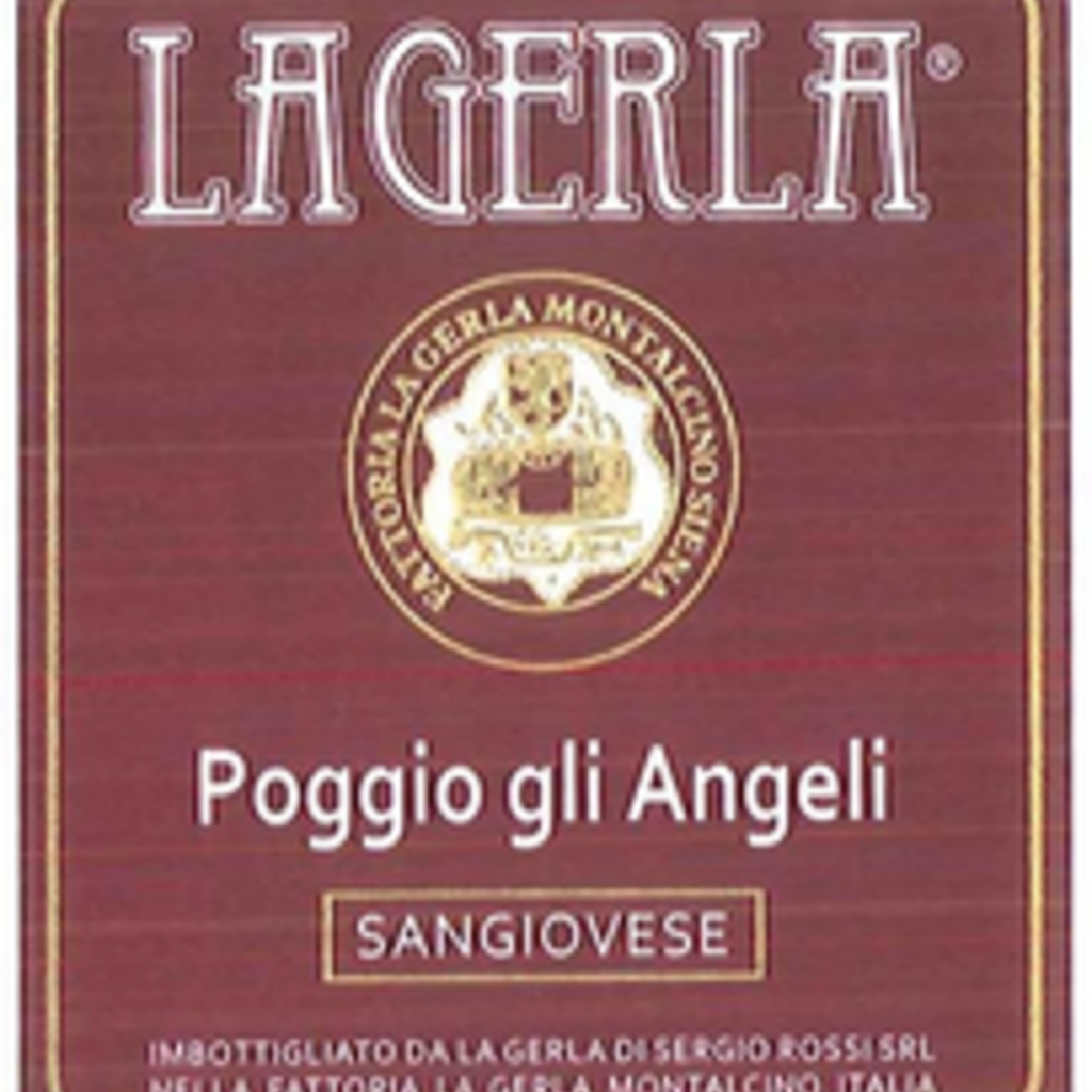 La Gerla Poggio gli Angelo Sangiovese 2019 750ml