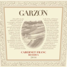 Garzon Cabernet Franc Reserva 2019 750ml