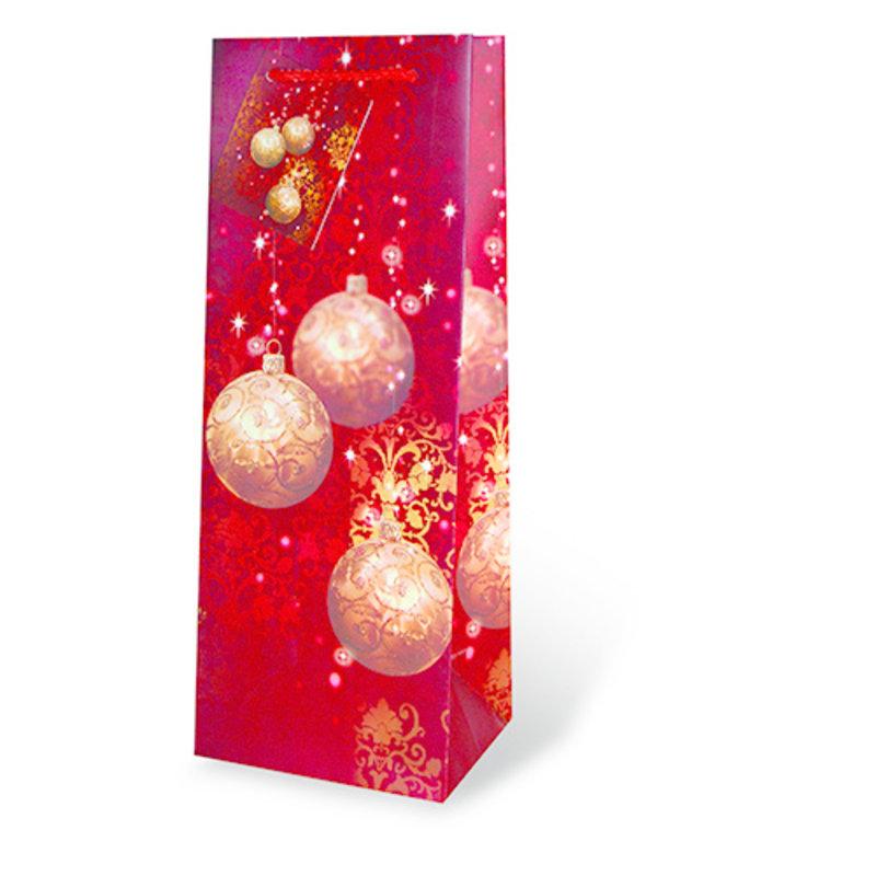 Festive Holidays Single Wine Bag