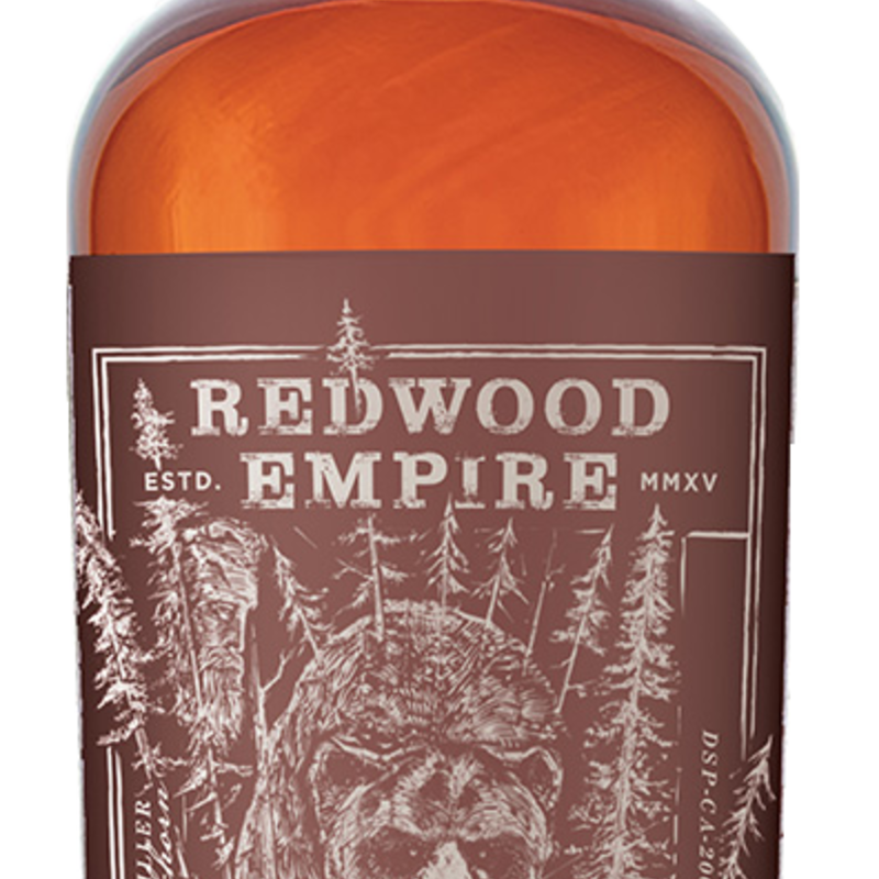 Redwood Empire Grizzly Beast Straight Bourbon Whiskey 750ml