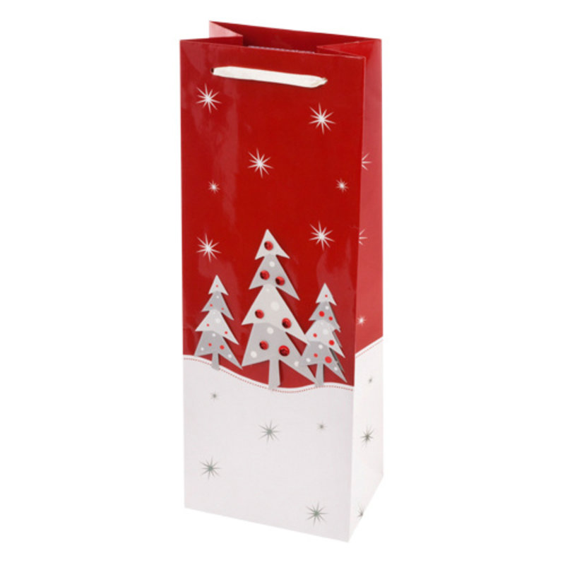 Frosty Forest Gift Bag Single