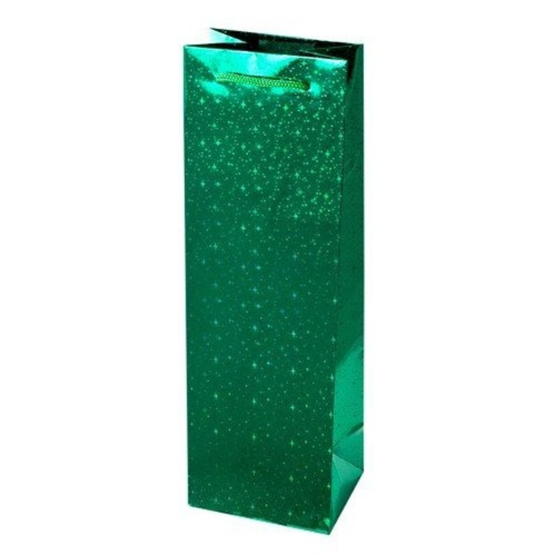 Sparkling Green Gift Bag Single