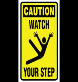CleanHub Duk Guard - Caution Sticker