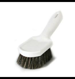 CleanHub Brush, Horse Hair W/Handle