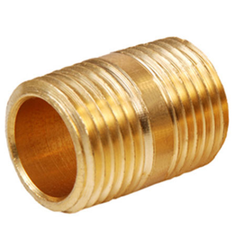 Parker Brass - 3/8 CLOSE NIPPLE