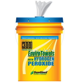 Sentinel Products INC. Sentinel 300 EnviroTowels W/Peroxide (290 Count)