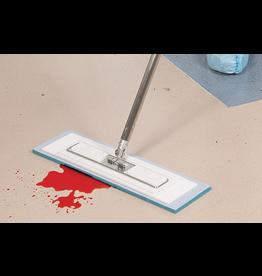 "Contec Contec Premira Blue Sponge Microfiber Pad 5""x19"" (6pk)"