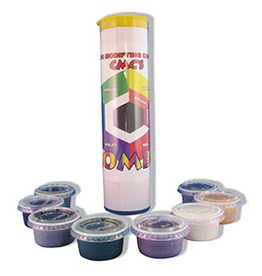 CTi-Pro's Choice Pros Choice Cmc - Combo (Yellow, Blue, Green, Black, Red, White, Purple And Tan) (6  3/4 Oz Cups In Tube)