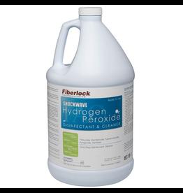 Fiberlock Technologies ShockWave H2O2 - Hydrogen Peroxide Disinfectant - 1 Gallon