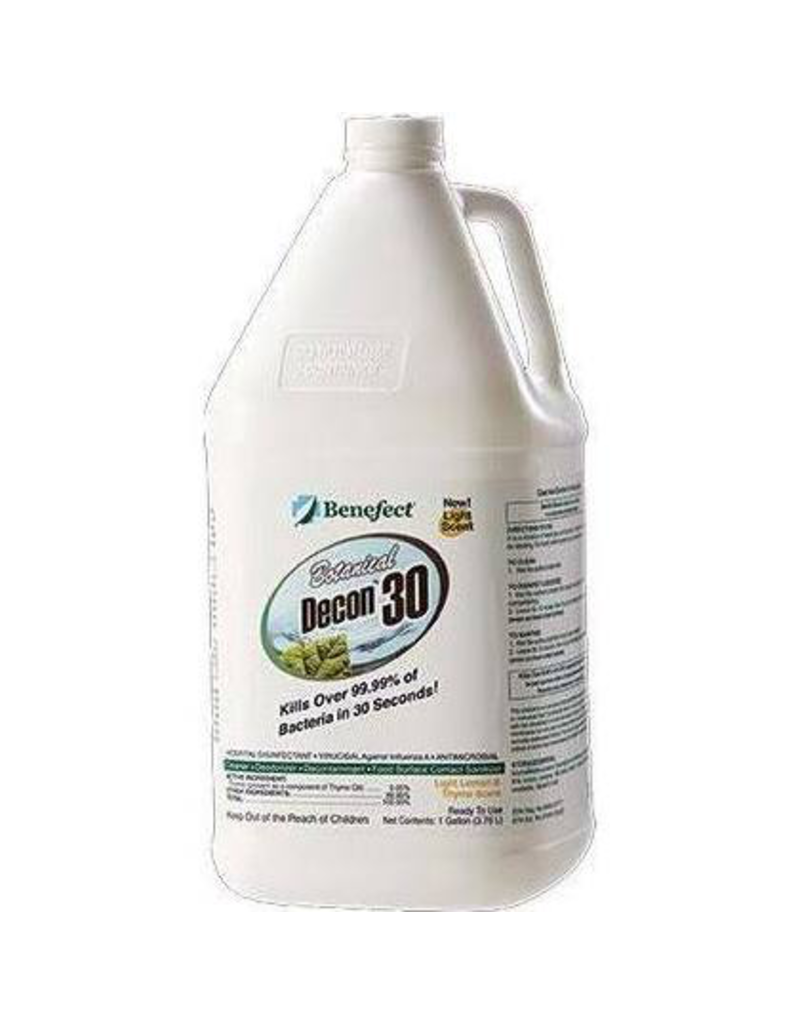 Benefect Benefect® Botanical Decon 30 Disinfectant, 1 Gallon