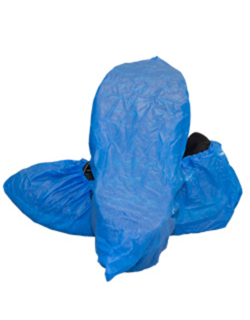 CT International Blue Shoe Covers - 100/Bag - Booties